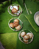 Bonbon thaïlandais traditionnel Photographie stock libre de droits