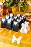 Bonbonniere свадьбы для гостя Стоковые Фотографии RF
