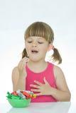 bonbons à amour de gosses Image libre de droits
