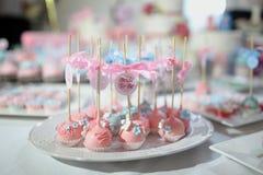 Bonbons à anniversaire Photo stock