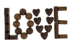 bonbons à chocolat photographie stock