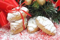 Bonbons à Chrismas, biscuits Images libres de droits