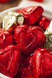 Bonbons à coeur de bonbons au chocolat Photo stock