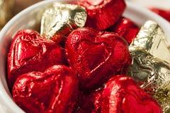 Bonbons à coeur de bonbons au chocolat Image stock