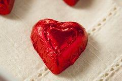 Bonbons à coeur de bonbons au chocolat Photo libre de droits