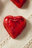 Bonbons à coeur de bonbons au chocolat Photographie stock libre de droits