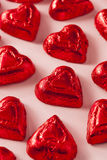 Bonbons à coeur de bonbons au chocolat Photos libres de droits