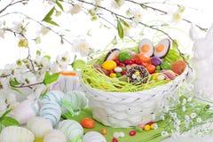 Bonbons à Pâques images libres de droits