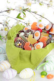 Bonbons à Pâques photographie stock