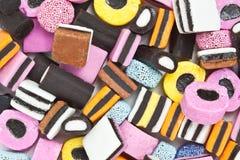 Bonbons à réglisse Photographie stock libre de droits