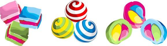 Bonbons à sucrerie Photographie stock libre de droits