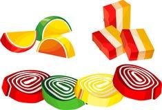 Bonbons à sucrerie Images stock