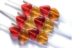 Bonbons à sucrerie de lucettes Images stock