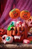 Bonbons à Veille de la toussaint Photographie stock libre de droits