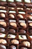 Bonbons σοκολάτας υπόβαθρο Στοκ φωτογραφία με δικαίωμα ελεύθερης χρήσης
