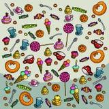 bonbons lizenzfreie abbildung