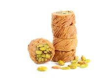 Bonbons arabes frais Photographie stock
