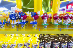Bonbons au chocolat au ` s de M&M Photographie stock libre de droits