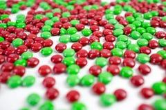 Bonbons au chocolat colorés à bouton de m&m Photos stock