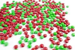 Bonbons au chocolat colorés à bouton de m&m Photo stock