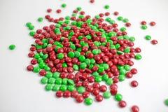 Bonbons au chocolat colorés à bouton de m&m Photographie stock