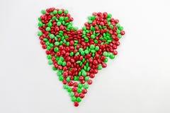Bonbons au chocolat colorés à bouton de m&m Image stock