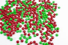 Bonbons au chocolat colorés à bouton de m&m Images libres de droits