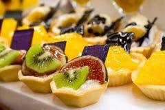 Bonbons avec des fruits Image libre de droits