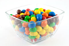 Bonbons in a bowl Stock Photos