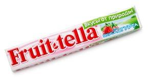 Bonbons caoutchouteux à Fruittella image libre de droits