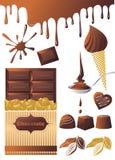 Bonbons à chocolat Photo libre de droits