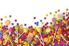 Bonbons colorés mélangés Images libres de droits