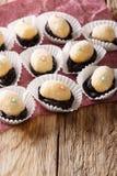 Bonbons délicieux à Olho de sogra de Brésilien du lait condensé, RP Image stock