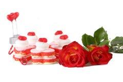 Bonbons des Valentinsgrußes Stockfoto