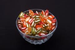 Bonbons durs colorés Photographie stock