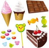 Bonbons - Eiscreme Stockbild