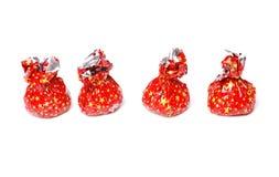 Bonbons en emballage rouge Photo libre de droits