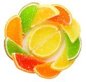 Bonbons en sucre photo stock