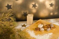 Bonbons espagnols à Noël Photo stock