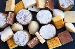 Bonbons espagnols à Noël Photographie stock libre de droits