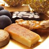 bonbons espagnols types à Noël Photos libres de droits