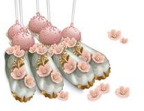 Bonbons et desserts délicieux La boulangerie de confiserie de mariage d'?t? traite des illustrations de vecteur illustration stock
