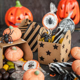 Bonbons für Halloween Lizenzfreies Stockfoto