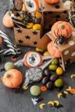 Bonbons für Halloween Lizenzfreies Stockbild