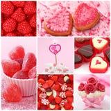 Bonbons für Valentinstag Lizenzfreies Stockfoto