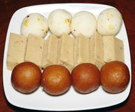 Bonbons indiens Images libres de droits