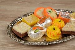 Bonbons indiens pour célébrer chaque moment joyeux photos stock