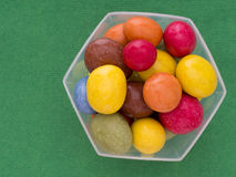 Bonbons lumineux, sucrerie Image stock