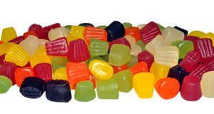 Bonbons miniature à gemme Photos libres de droits