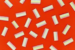 Bonbons néfastes à gelée photo libre de droits